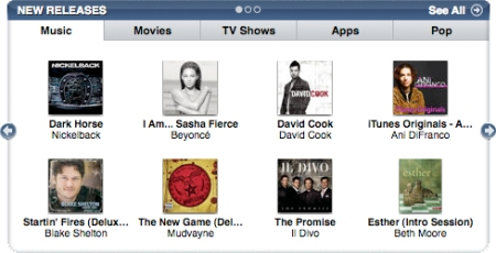 Esther on iTunes New Releases